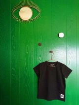 mini rodini BASIC SS TEE ブラック