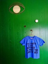 mini rodini MOTHER EARTH T-SHIRT ブルー