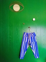 mini rodini ODD STRIPE TROUSERS ブルー