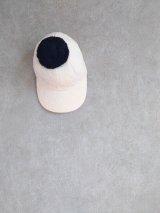 franky grow BEAR QUILTING CAP + BONBON ピンク