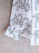 他の写真2: franky grow POP PLEATS COLLAR BELL SHAPED TP ホワイト*ブラック