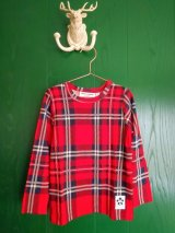 mini rodini CHECK LS TEE