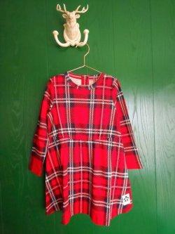 画像1: mini rodini CHECK DRESS