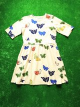 mini rodini BUTTERFLIES DRESS