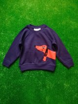 mini rodini DOG SP SWEATSHIRTS ネイビー