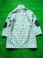 他の写真3: franky grow SOLID BEAR JQ STAND COLLAR COAT グレー*グリーンBEAR