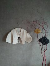 little creative factory  Origami Short Jacket チョーク