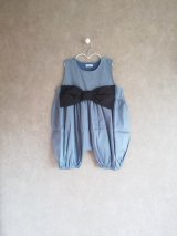 franky grow BIG RIBBON DENIM OVERALL ライト