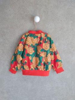 画像2: mini rodini Peonies Baseball Jacket