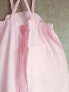 他の写真2: franky grow AIRY WADE OVERALLS DYED ピンク