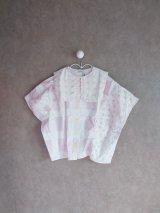 franky grow ORIG.CHECK MIX PENTAGON DRESS SHIRT ホワイト*ピンク