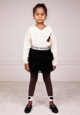 mini rodini Tulle Skirt ブラック