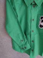 他の写真1: mini rodini Panda Shirts グリーン